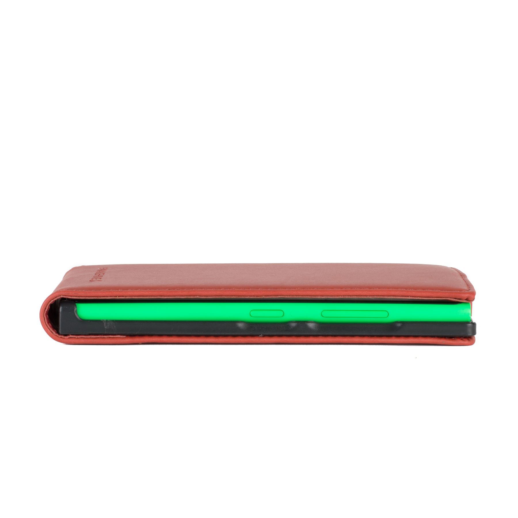 SNAKEHIVE® Premium Leather Flip Case Cover for Nokia Lumia 735
