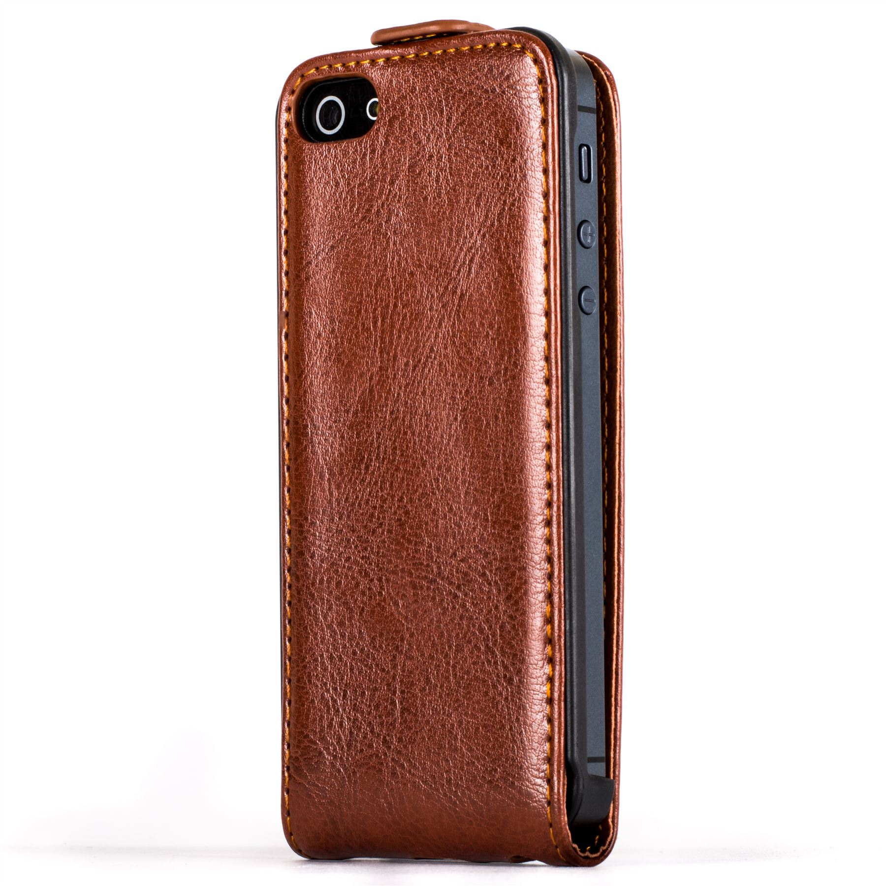 Snakehive premium leather flip case cover for apple iphone 5 5s ebay - Iphone 5s leather case ...