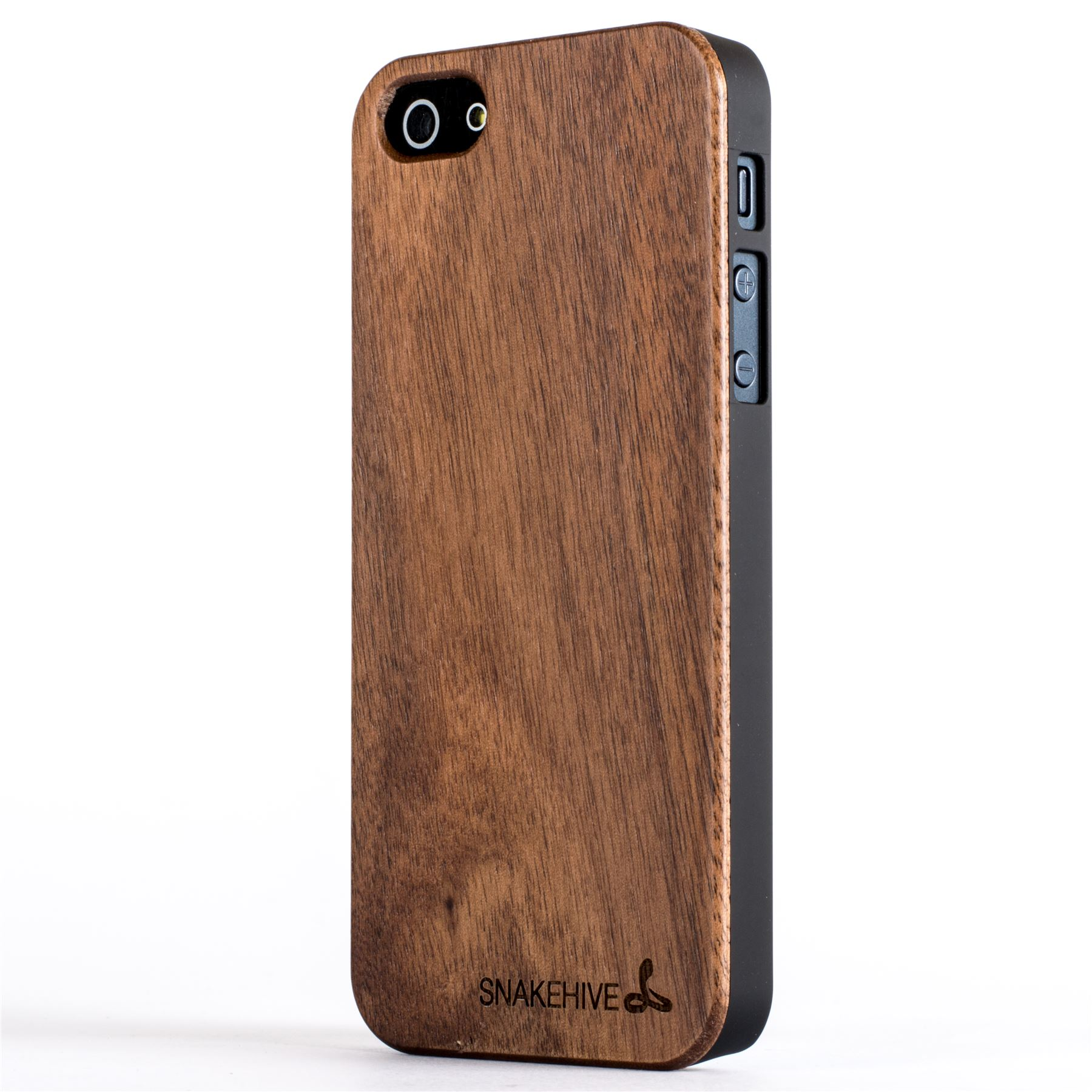Snakehive Real Wooden Back Case Cover For Apple Iphone 5