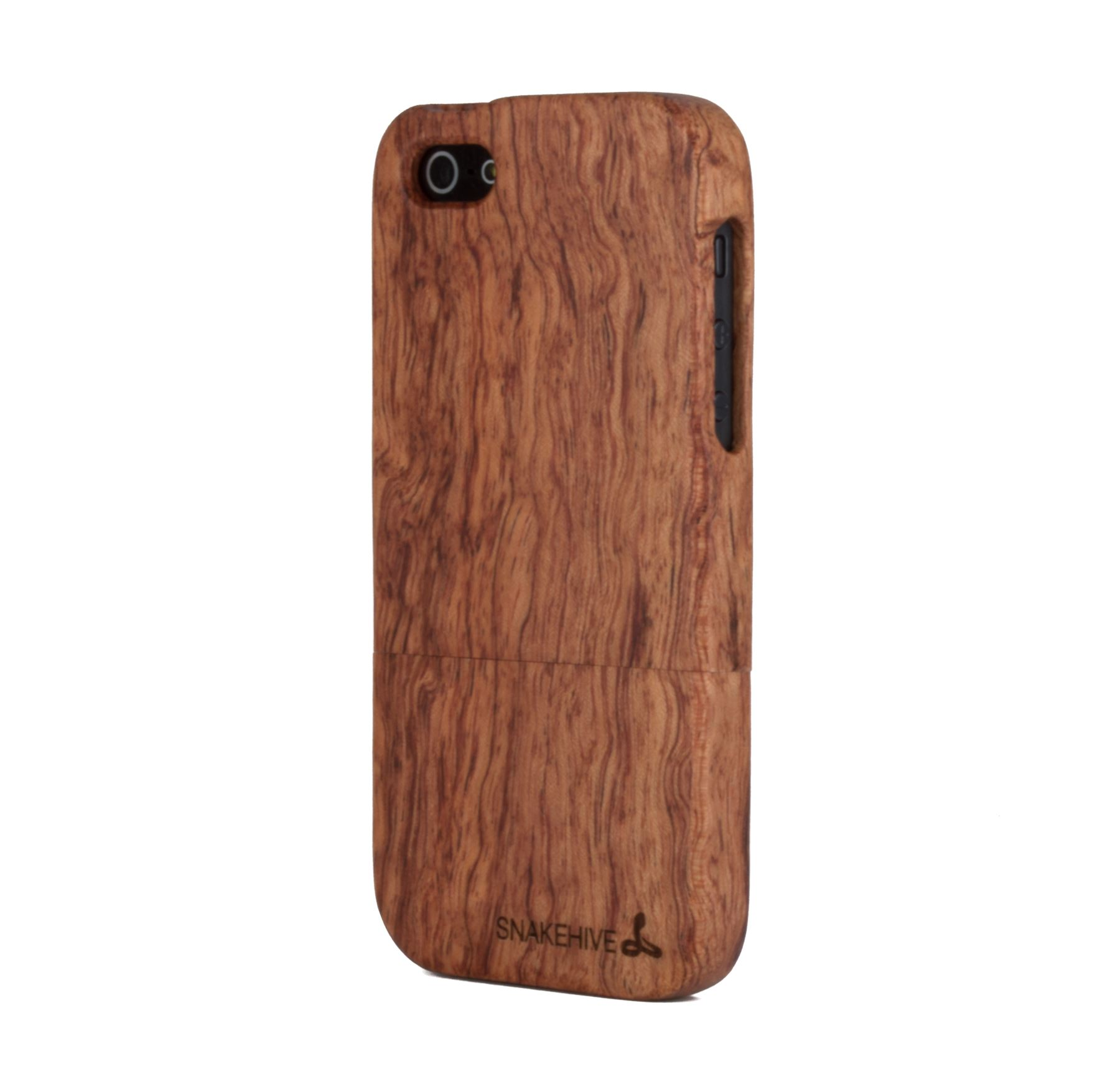 Snakehive Real Solid Wooden Case Cover For Apple Iphone 5