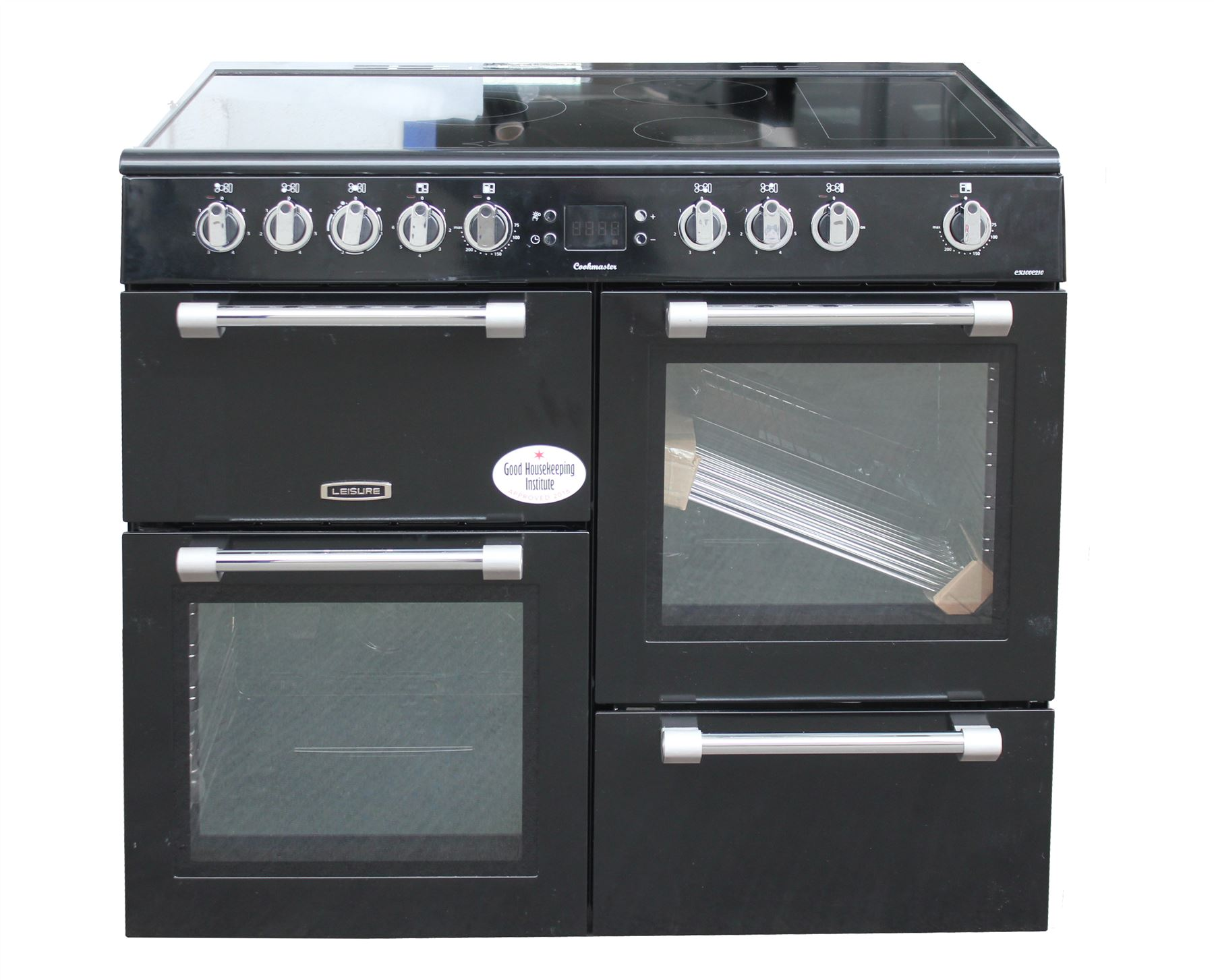 Leisure Electric Range Cooker 100cm Ceramic Hob Double