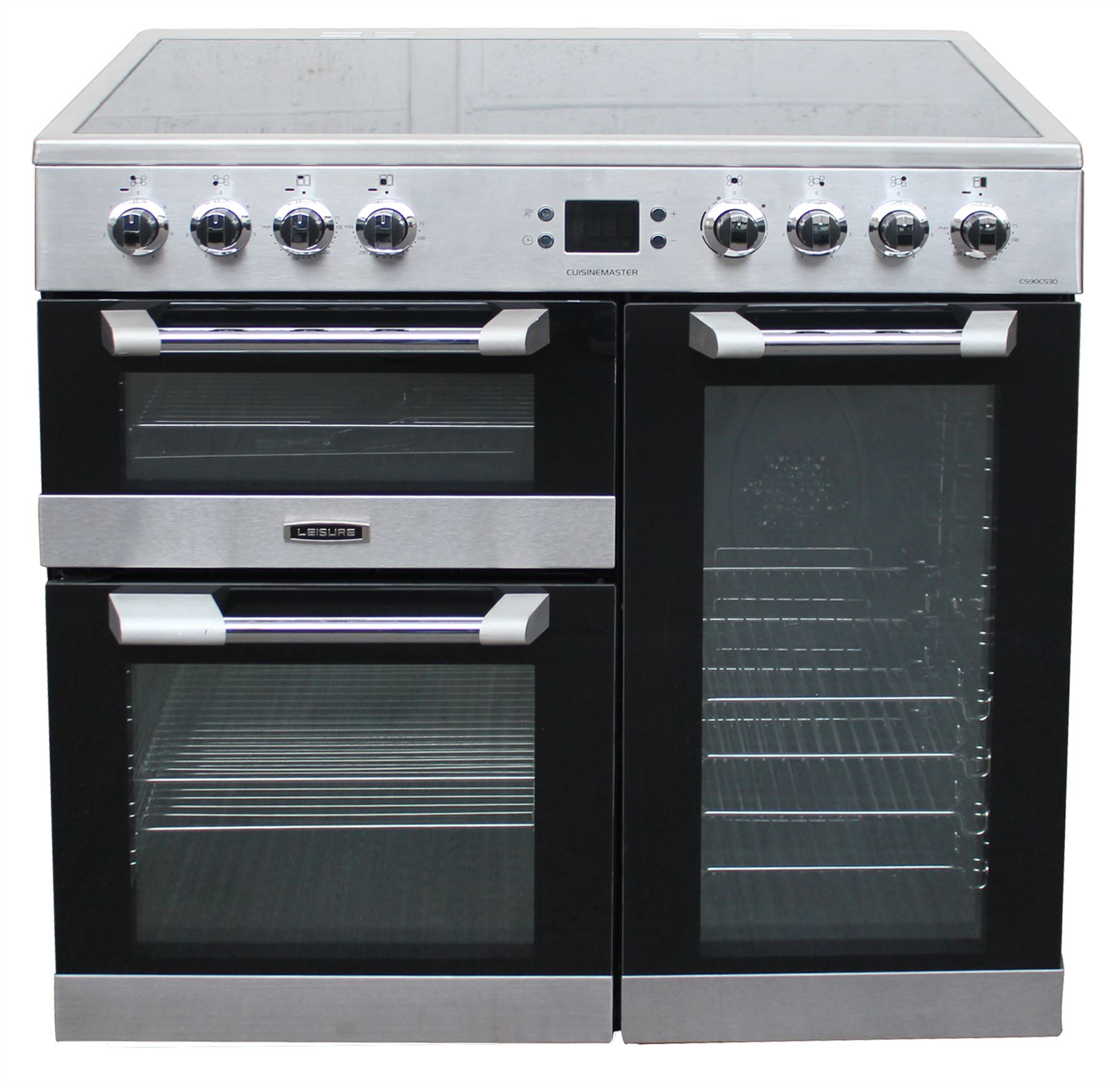 Leisure 90cm Electric Range Cooker Cs90c530x In Stainless