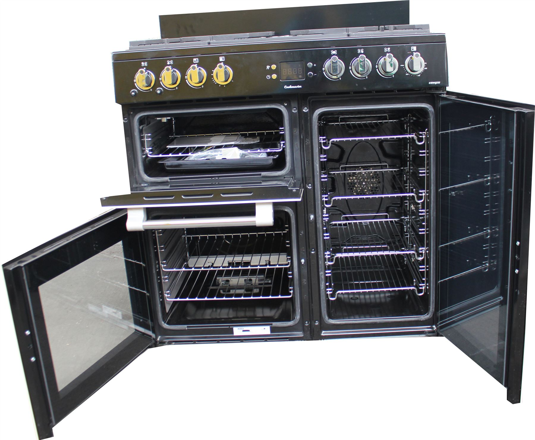 leisure 90cm gas range cooker ck90g232c cream double oven. Black Bedroom Furniture Sets. Home Design Ideas