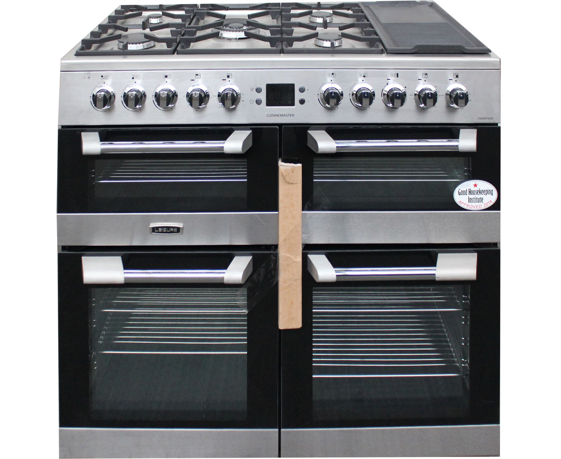 Leisure Cuisinemaster Cs100f520x Range Cooker Dual Fuel S