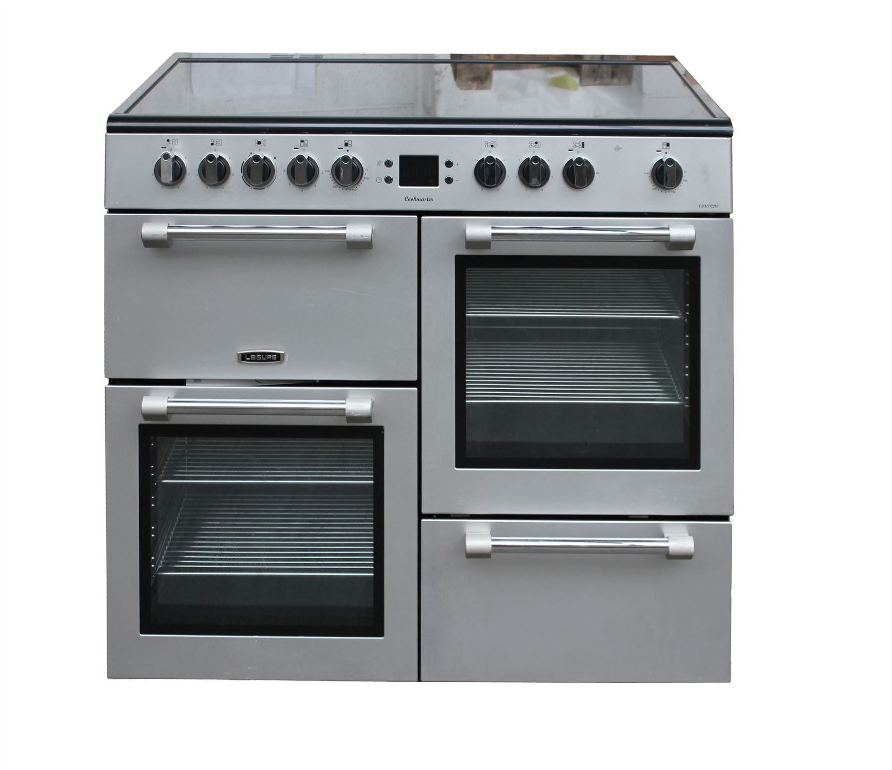 Leisure Electric Range Cooker 100 Cm Ceramic Double Oven