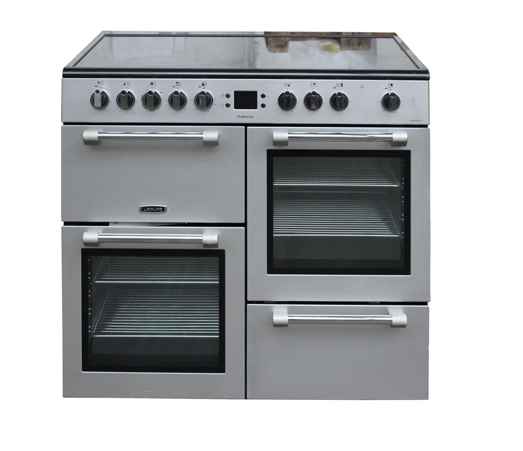 Leisure Electric Range Cooker 100 Cm Ceramic Double Oven