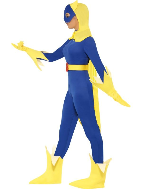 Cartoon Characters 80s Fancy Dress : Ladies bananaman costume s film tv cartoon comic