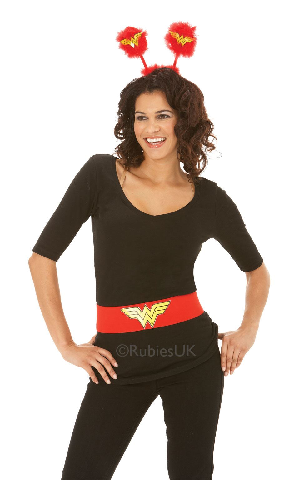 femme rouge wonder woman ceinture super h ros costume d guisement accessoire ebay. Black Bedroom Furniture Sets. Home Design Ideas