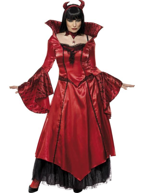 LADIES-RED-DEVILS-TEMPTRESS-FANCY-DRESS-COSTUME-WOMENS-SATAN-HALLOWEEN-OUTFIT
