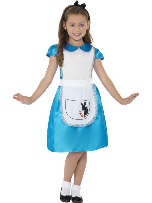 GIRLS-ALICE-IN-WONDERLAND-PRINCESS-COSTUME-FANCY-DRESS-KIDS-CHILDRENS-OUTFIT