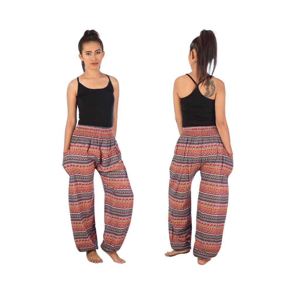 sarouel pantalon ray baggy bouffant fluide ethnique harem ebay. Black Bedroom Furniture Sets. Home Design Ideas