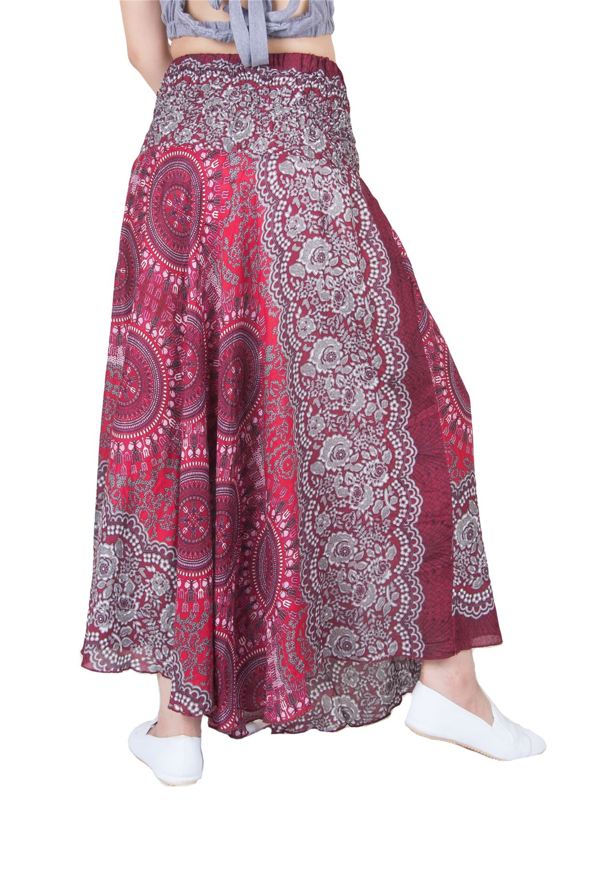 Lofbaz Womenu2019s Bohemian Boho Hippie Gypsy Long Skirts Dresses | eBay