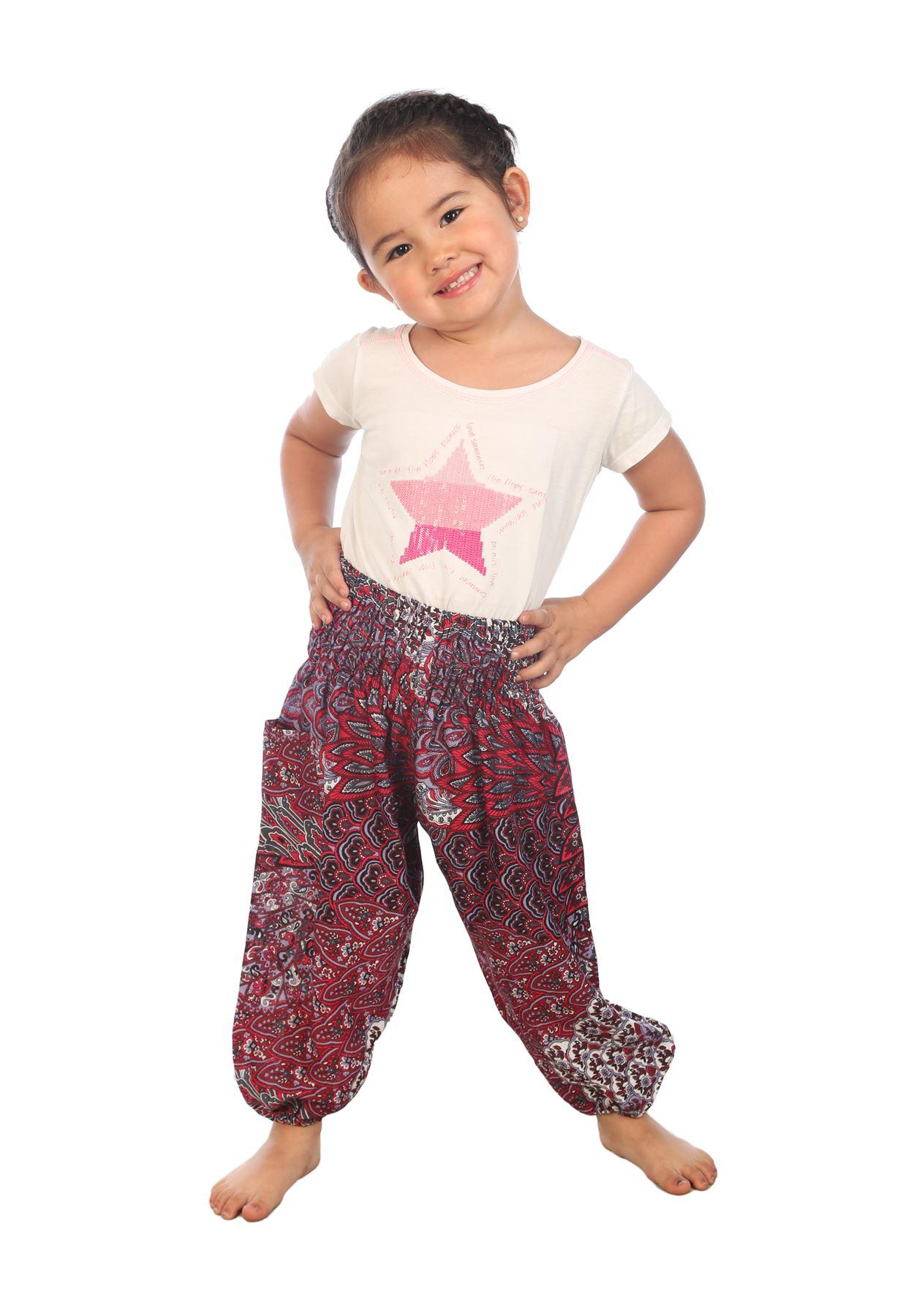 Childrens Harem Trousers Hippie kids clothes Baby Aladdin