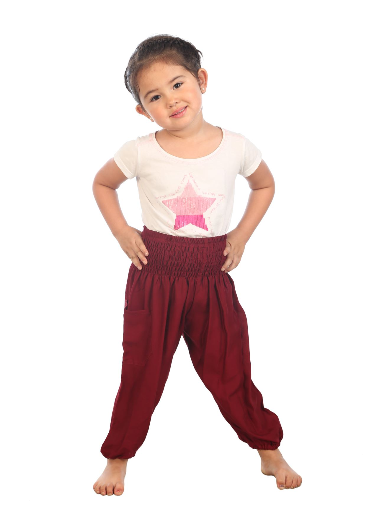 Childrens Harem Trousers Hippie kids clothes Baby Aladdin