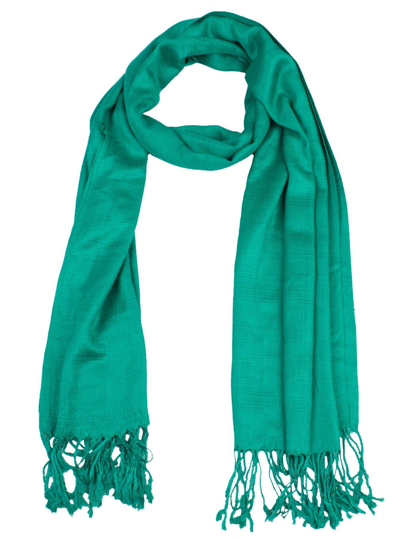 synthetic thai silk scarf shawl wrap large 28x72 handmade