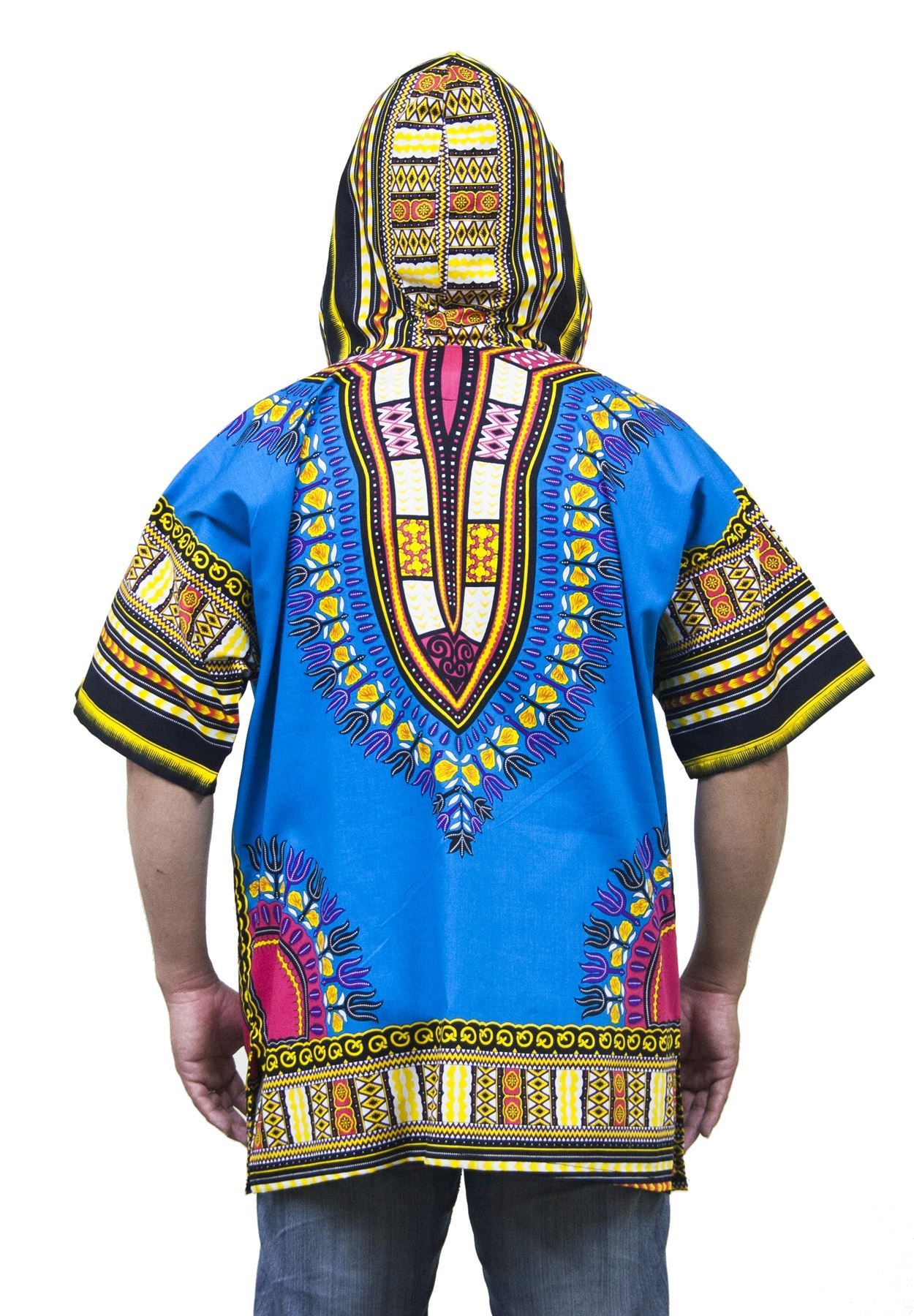 lofbaz robe chemise unisexe africaine traditionnelle imprim dashiki hippy ebay. Black Bedroom Furniture Sets. Home Design Ideas
