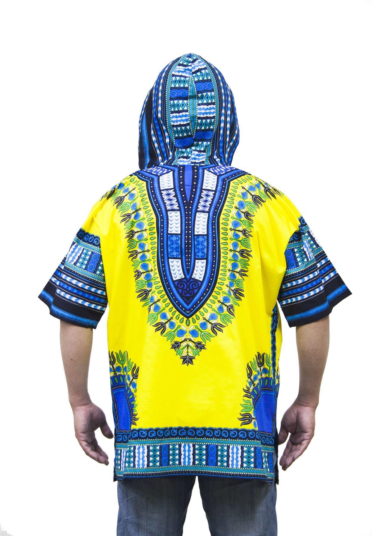 Lofbaz Traditional African Shirt Unisex Dashiki Hoodie Etnic Shirt