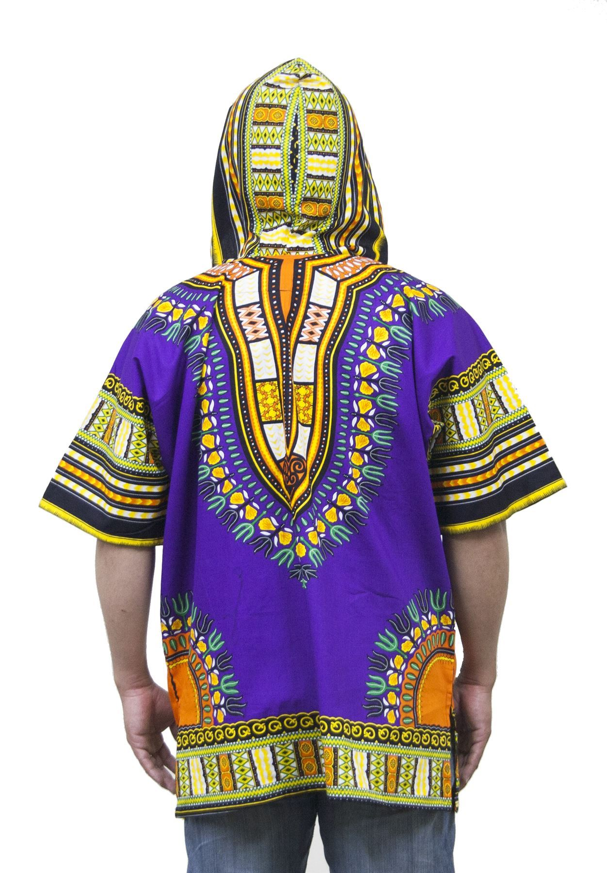 Lofbaz Traditional African Shirt Unisex Dashiki Hoodie Etnic Shirt ...