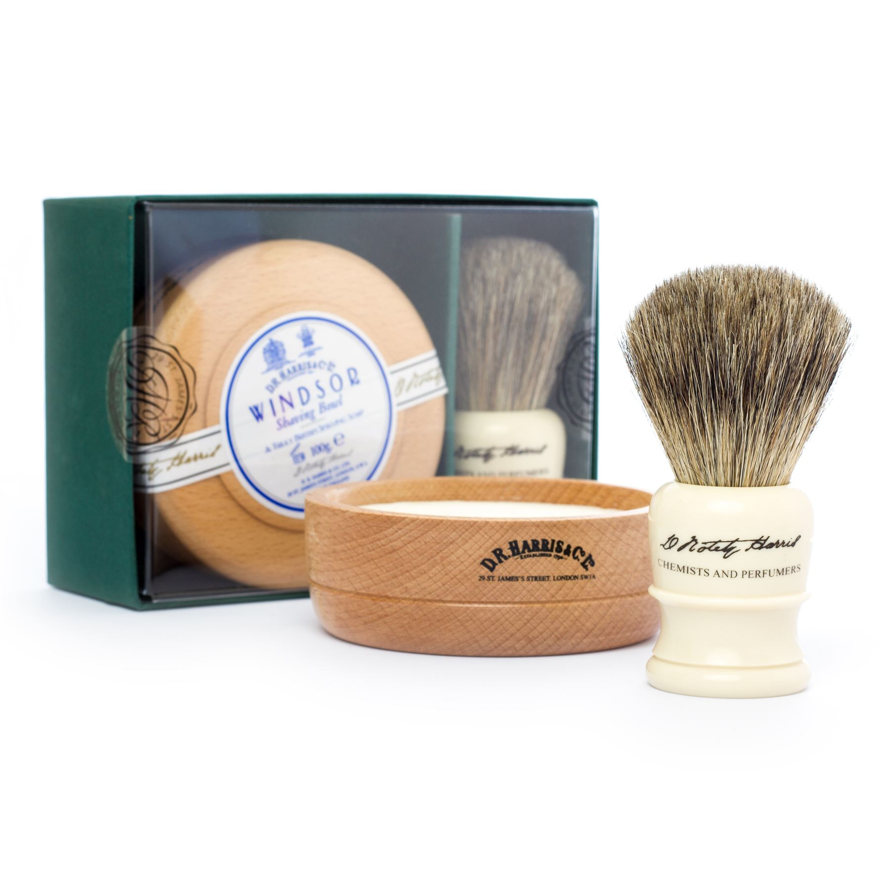 how to use a shaving brush with soap