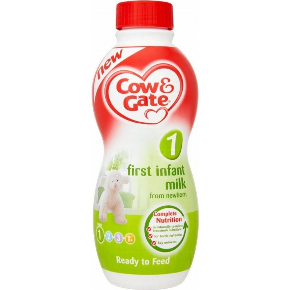 Cow Amp Gate First Infant Milk From Newborn Ready To Feed