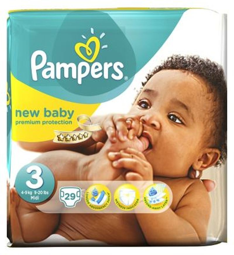 pers new baby nappies size 3 29 nappies ebay