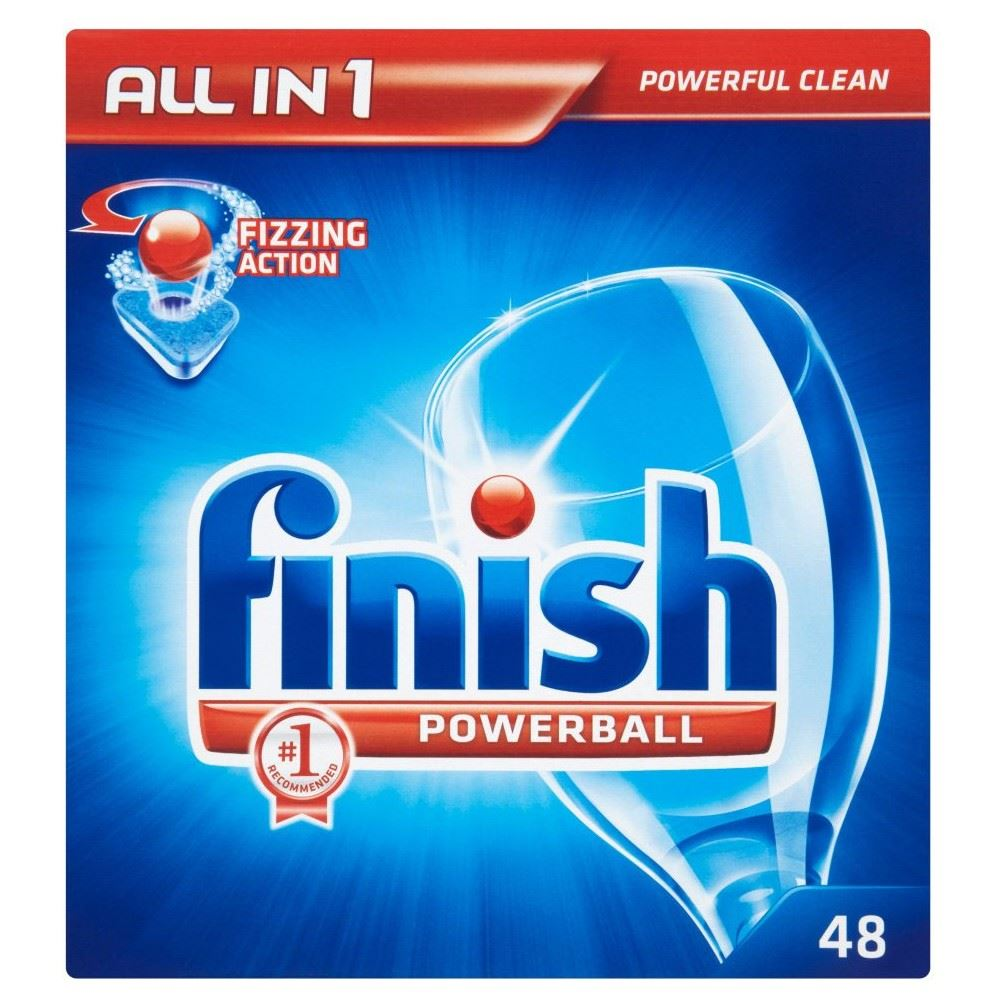 Finish All In 1 Powerball Dishwasher Tablets 52 Ebay