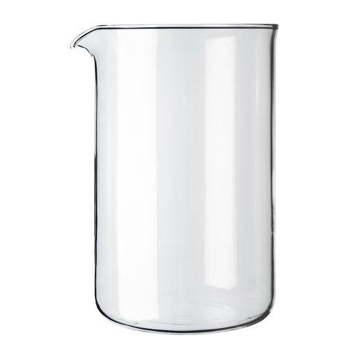 bodum transparenten glasersatz kaffeemaschine becher 12 tasse 1 5l 51 unzen ebay. Black Bedroom Furniture Sets. Home Design Ideas