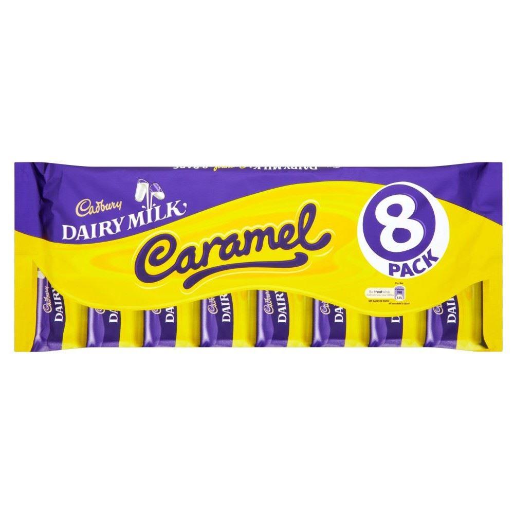Cadbury Dairy Milk Caramel (8 per pack - 313g)