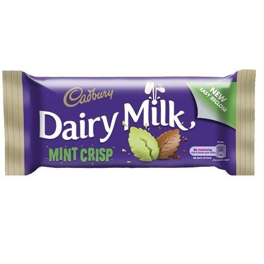 Chocolate Mint Crisp Sweets