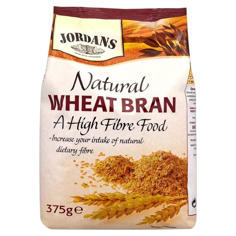 Jordans Natural Wheat Bran (375g)