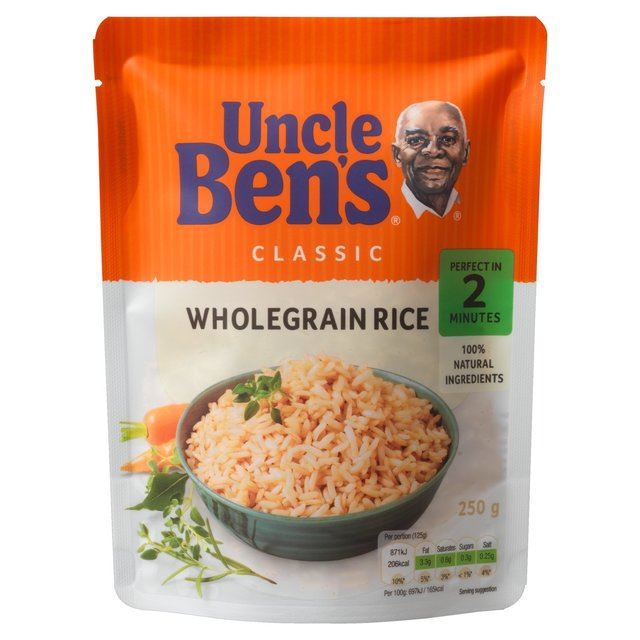 Uncle Bens Mikrowellenreis