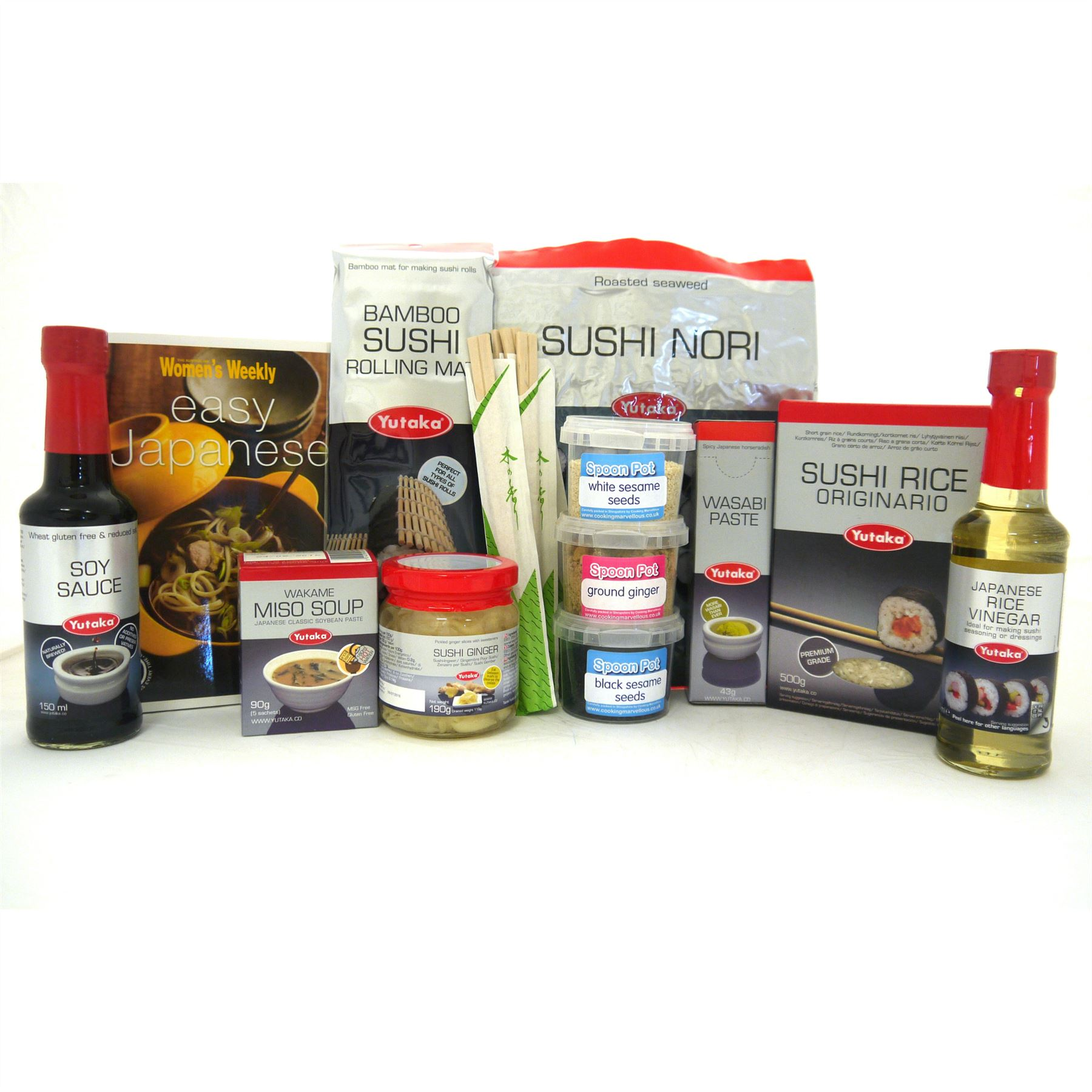 Large Sushi Kit Make Your Own At Home Ebay