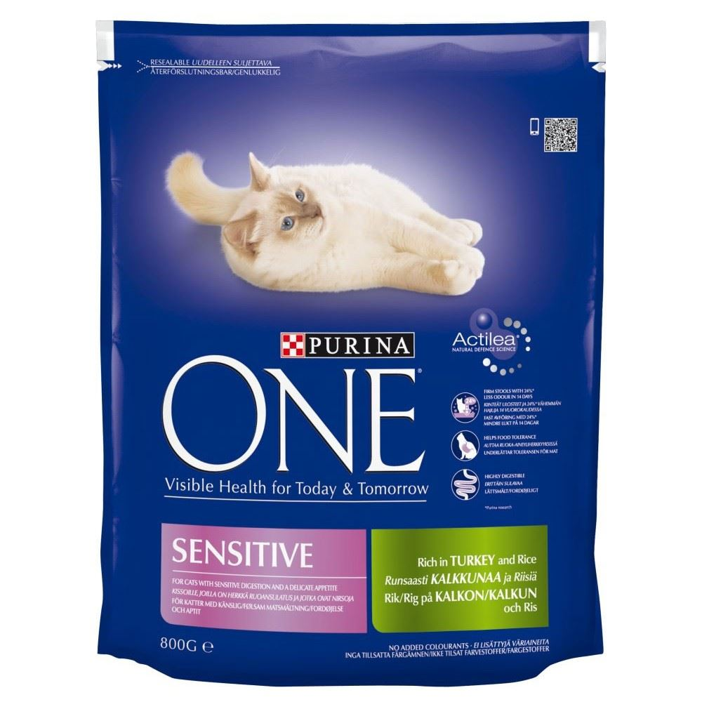 purina one sensitive turkey rice 800g ebay. Black Bedroom Furniture Sets. Home Design Ideas