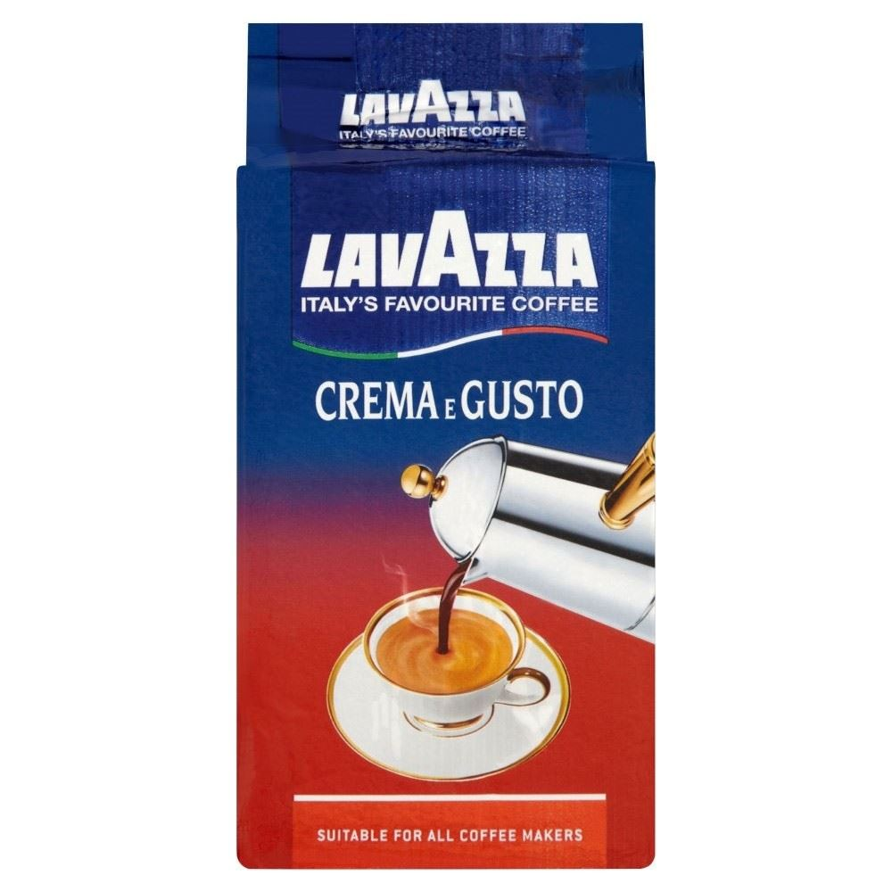 lavazza crema e gusto caf moulu 250g ebay. Black Bedroom Furniture Sets. Home Design Ideas