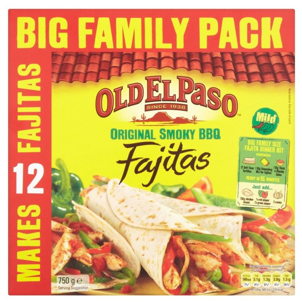 how to make old el paso fajitas