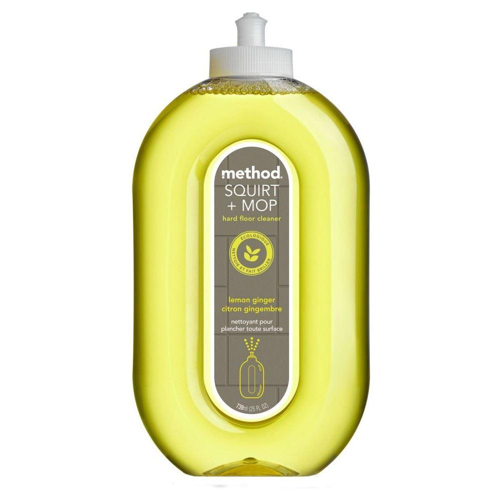 Method lemon ginger floor cleaner