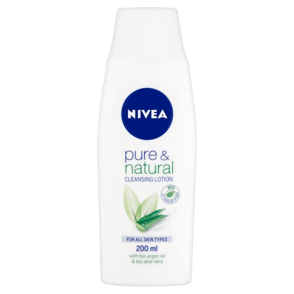 nivea visage pure natural cleansing lotion 200ml. Black Bedroom Furniture Sets. Home Design Ideas