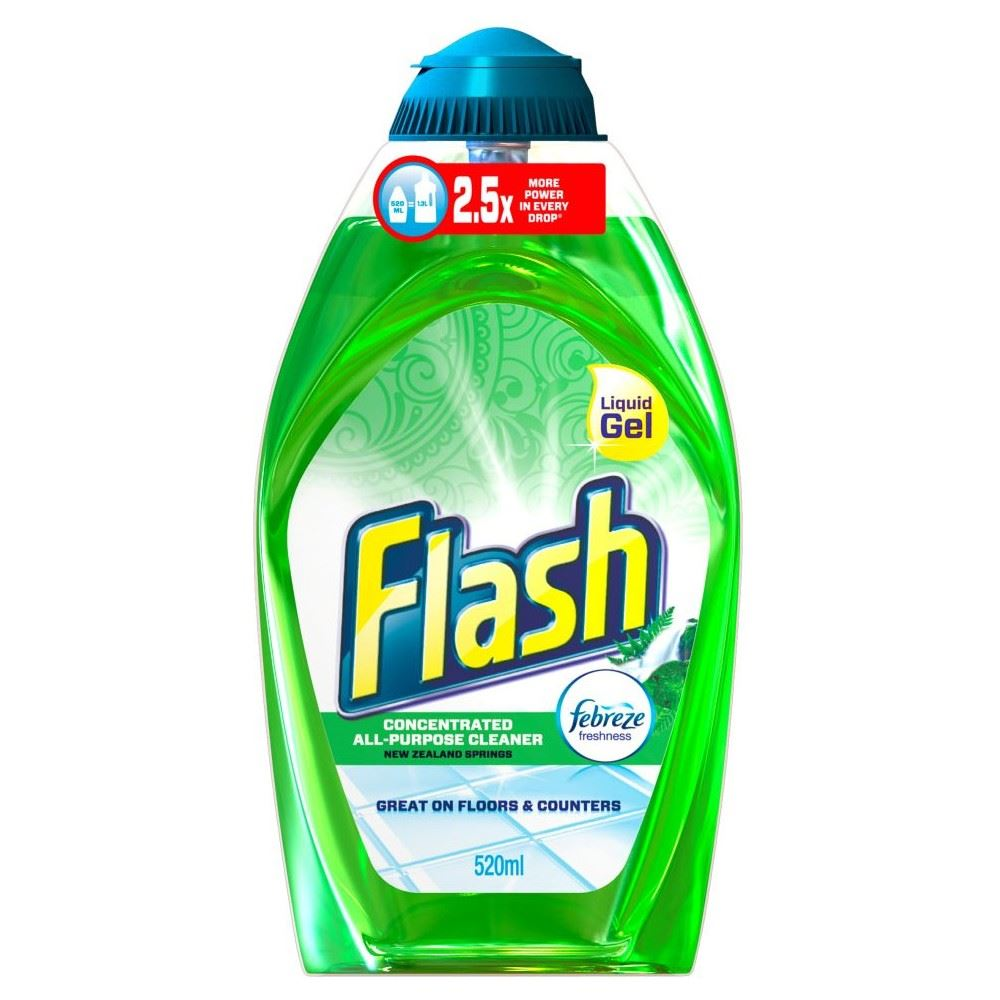 how to clean flash traces