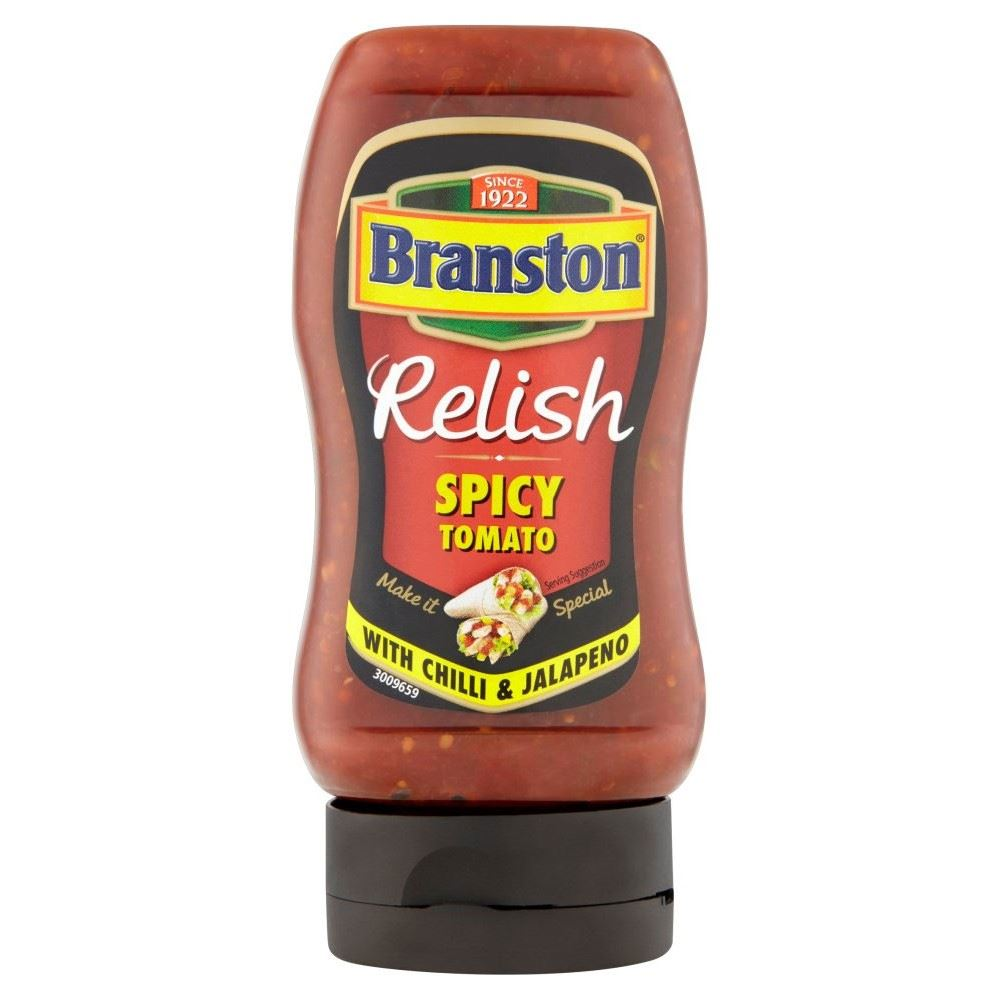 spicy tomato relish 335g additional information branston spicy tomato ...