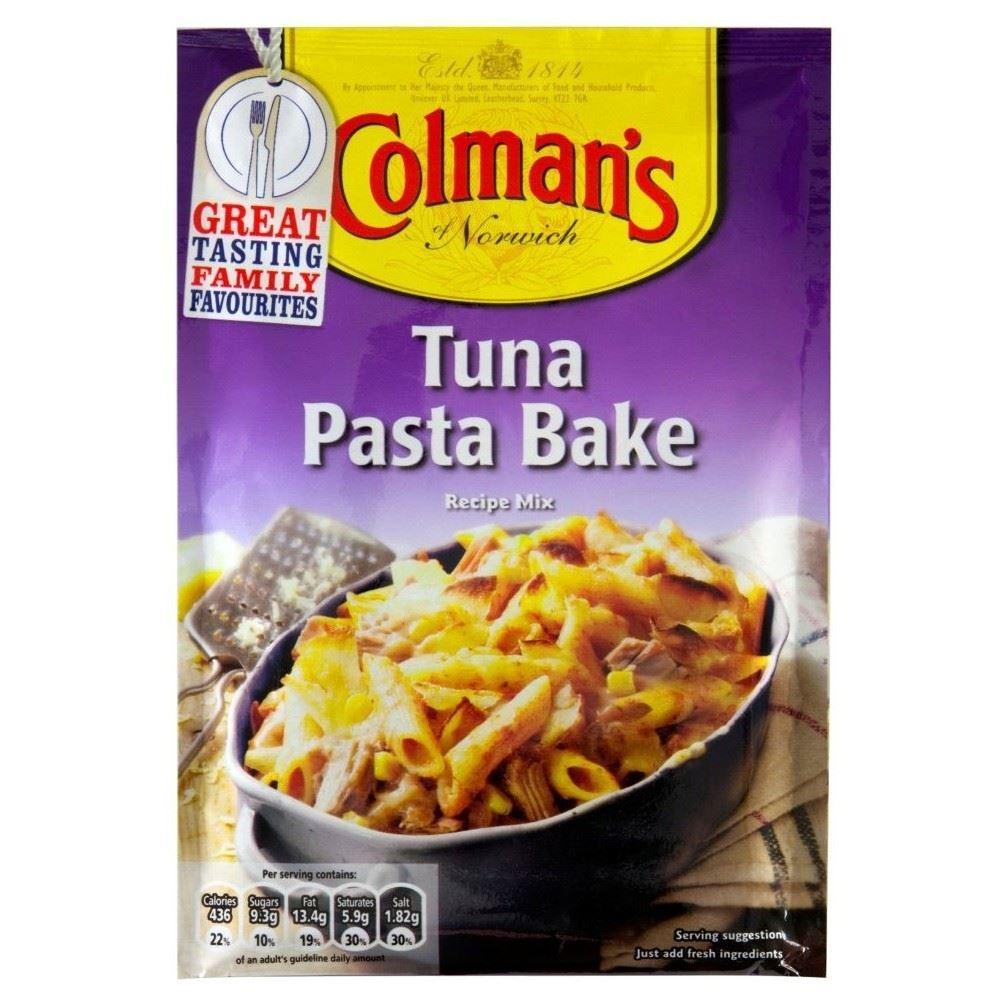 Colman's Tuna & Pasta Bake Recipe Mix (44g) for sale