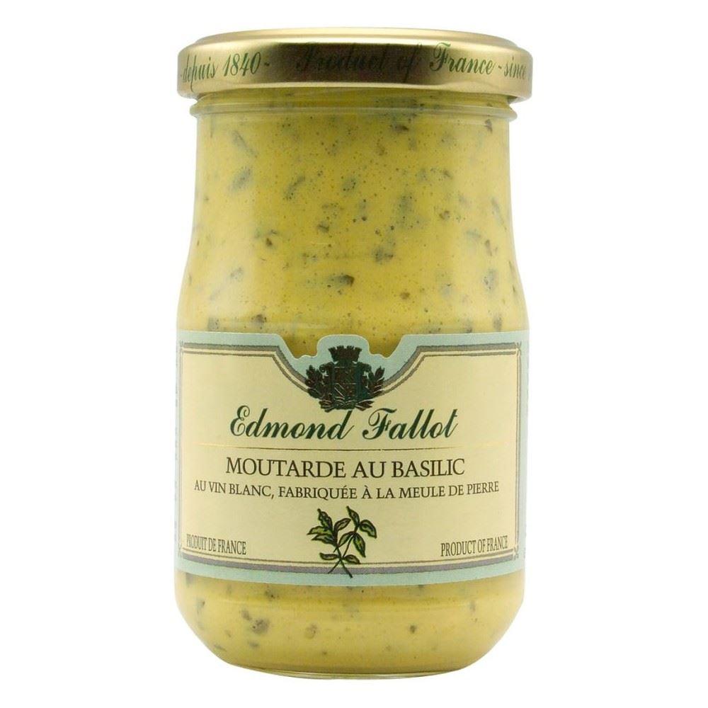 Edmond fallot moutarde de dijon le basilic 210g ebay - Moutarde fallot visite ...