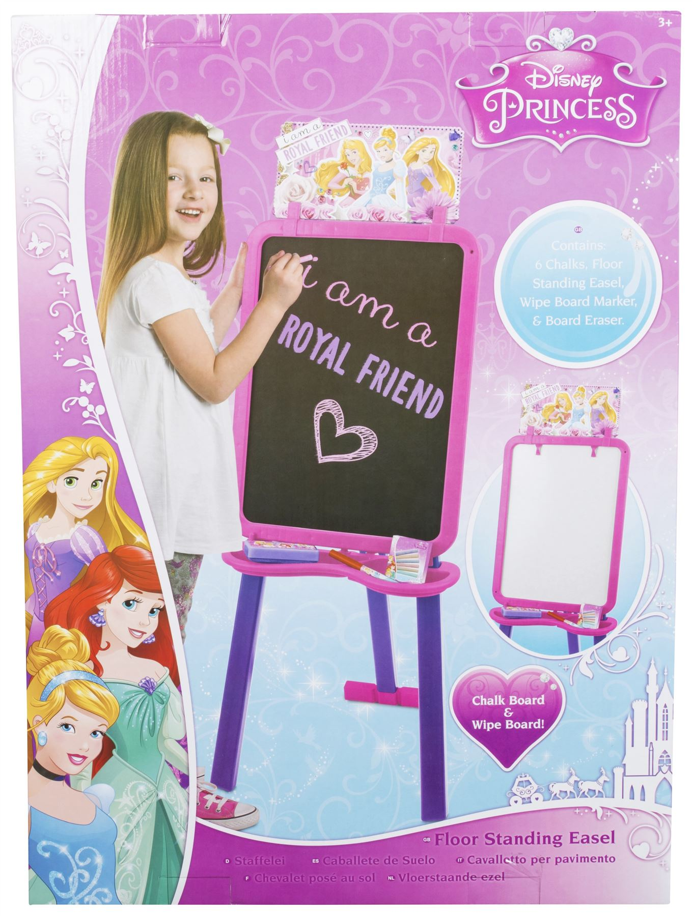 Disney Princess Standing Easel Toy Ebay