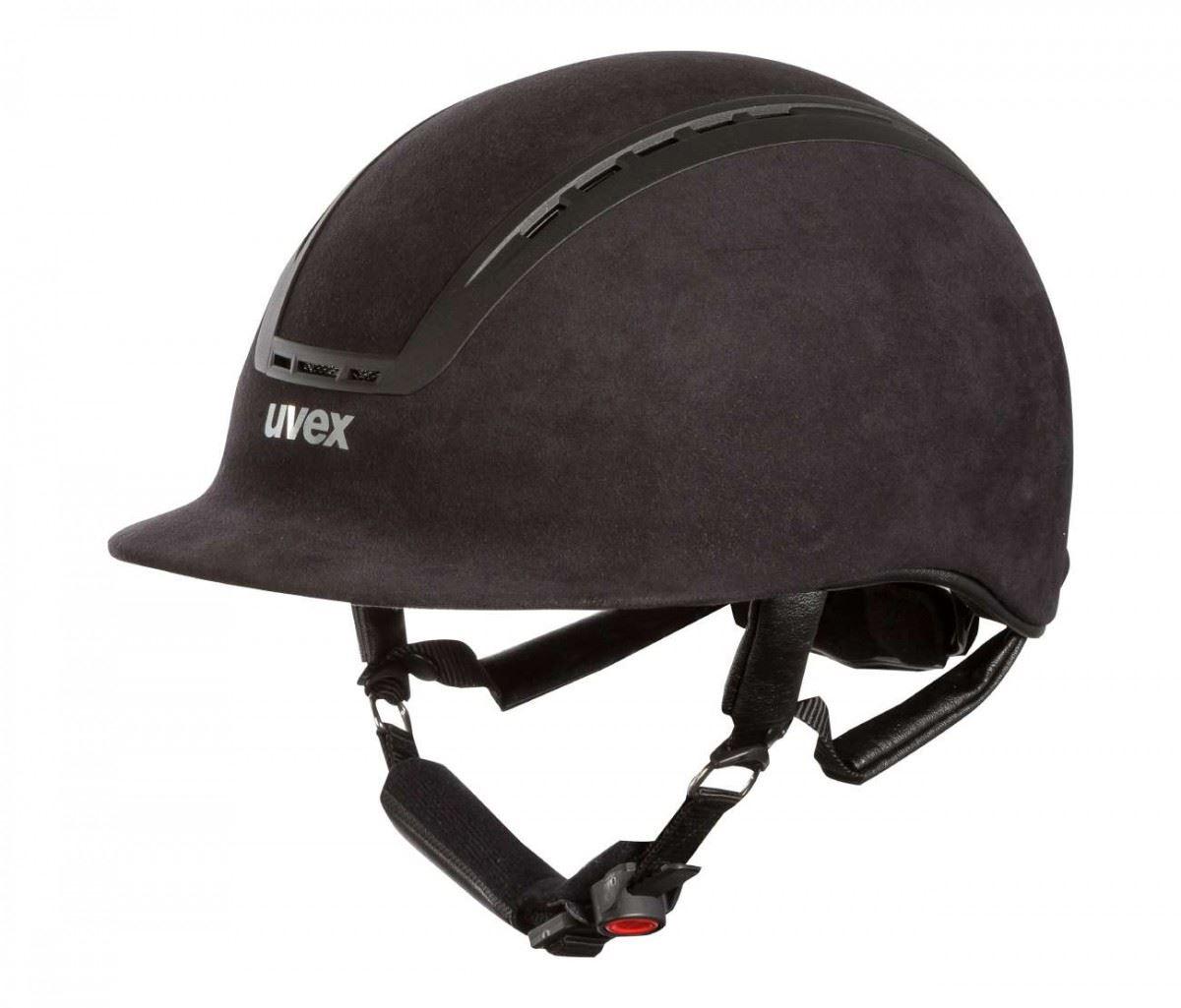 uvex suxxeed velour adjustable helmet vg1 kitemarked ebay. Black Bedroom Furniture Sets. Home Design Ideas