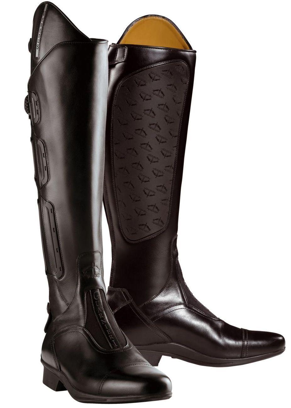 Veredus Guarnieri Long Leather Boa Riding Boot Ebay
