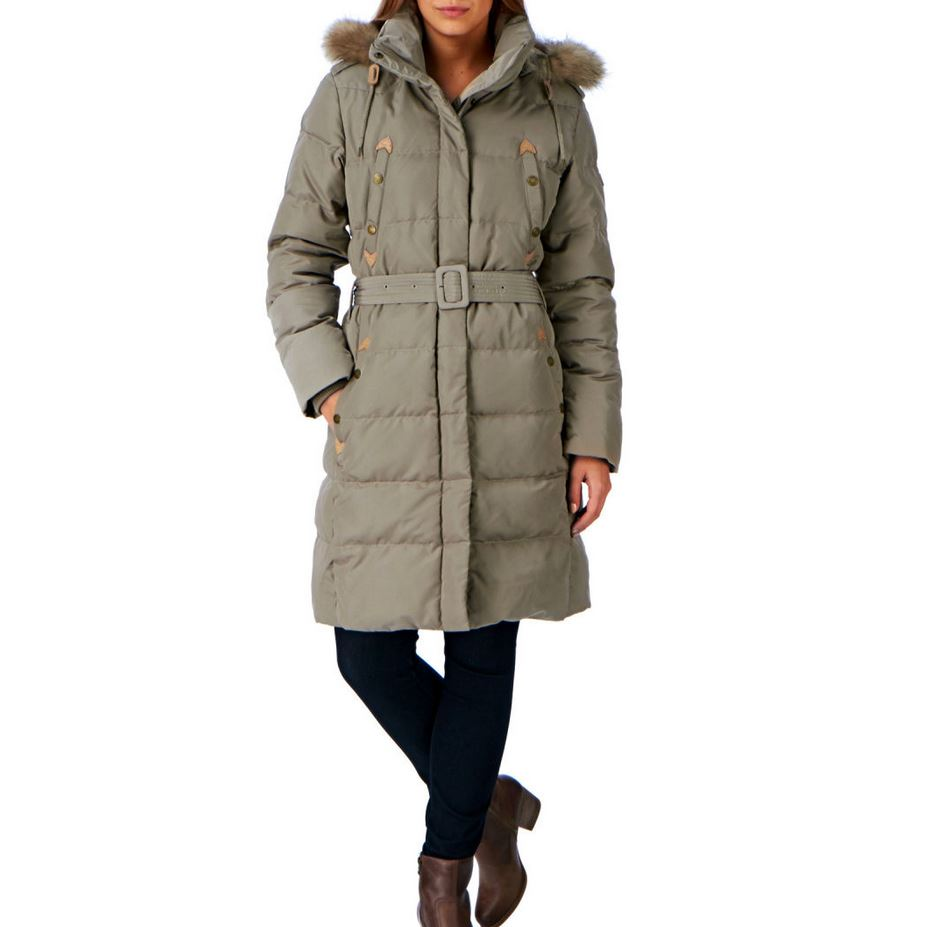 Aigle Cuckmerry Knee Length Down Filled Long Coat | eBay