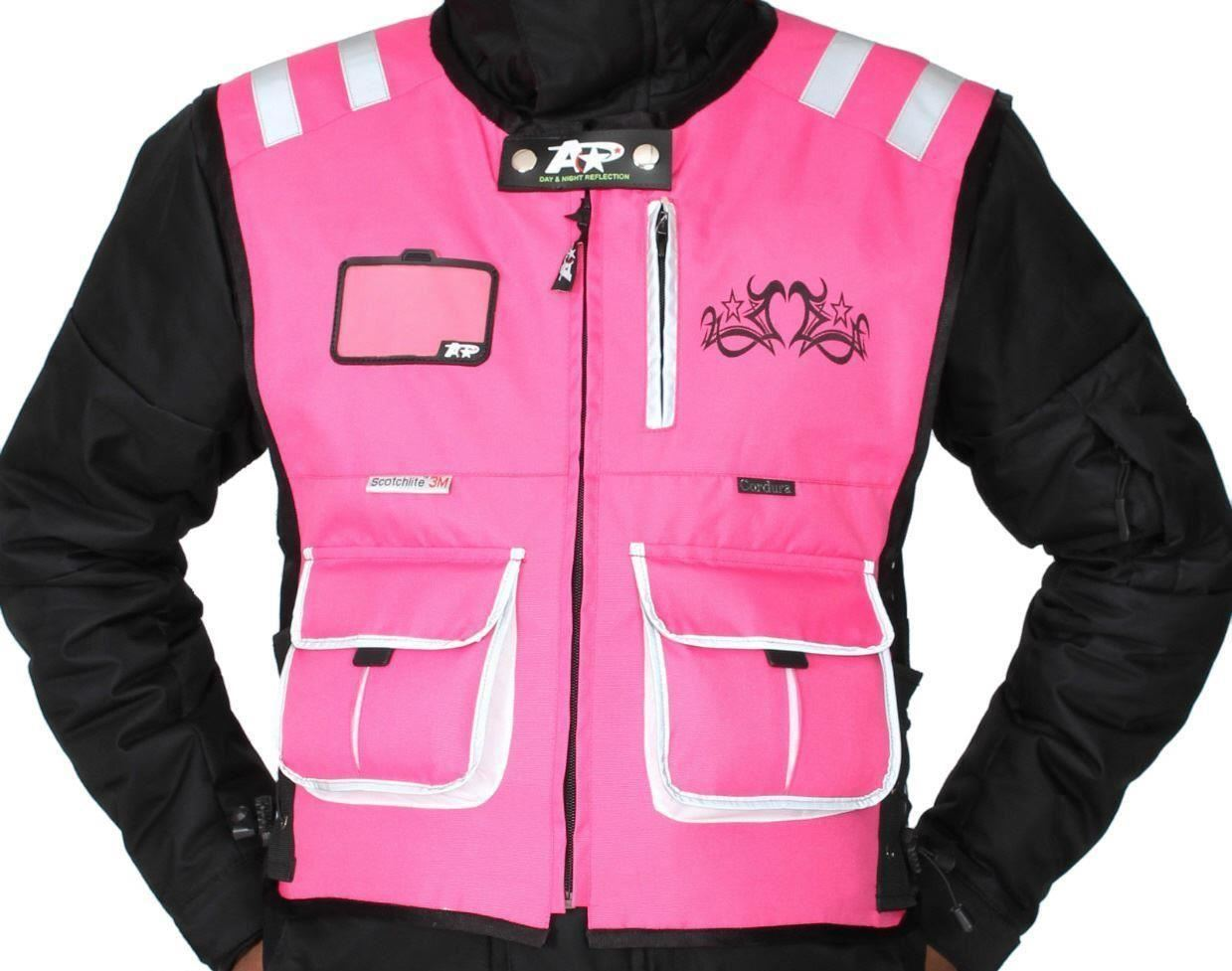Women Specific Motorcycle Safety Vest |Motorcycle Safety Vest Womens