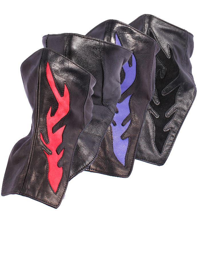 leather biker scarf motorcycle cruise bandanna neck