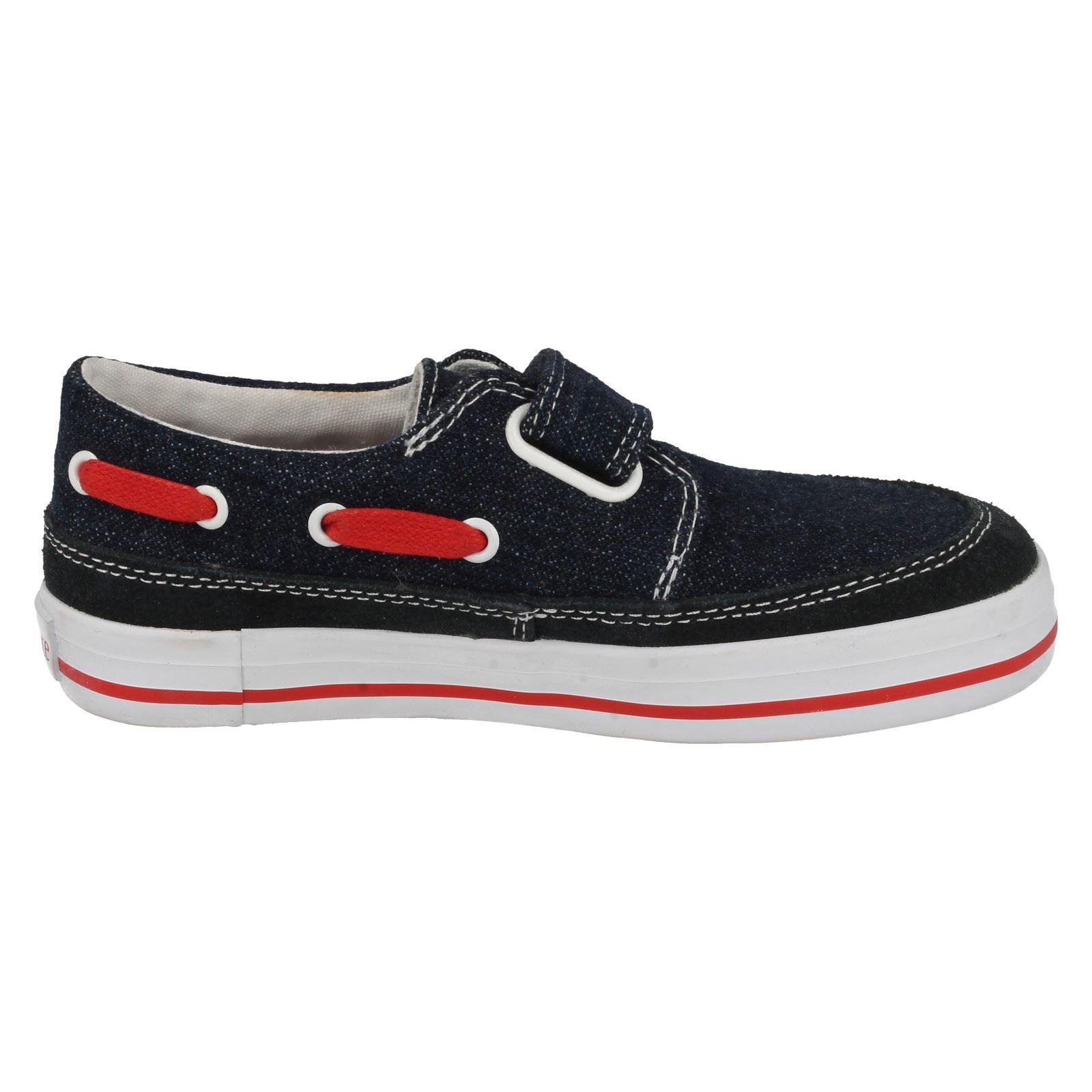 boys startrite canvas shoes ahoy ebay