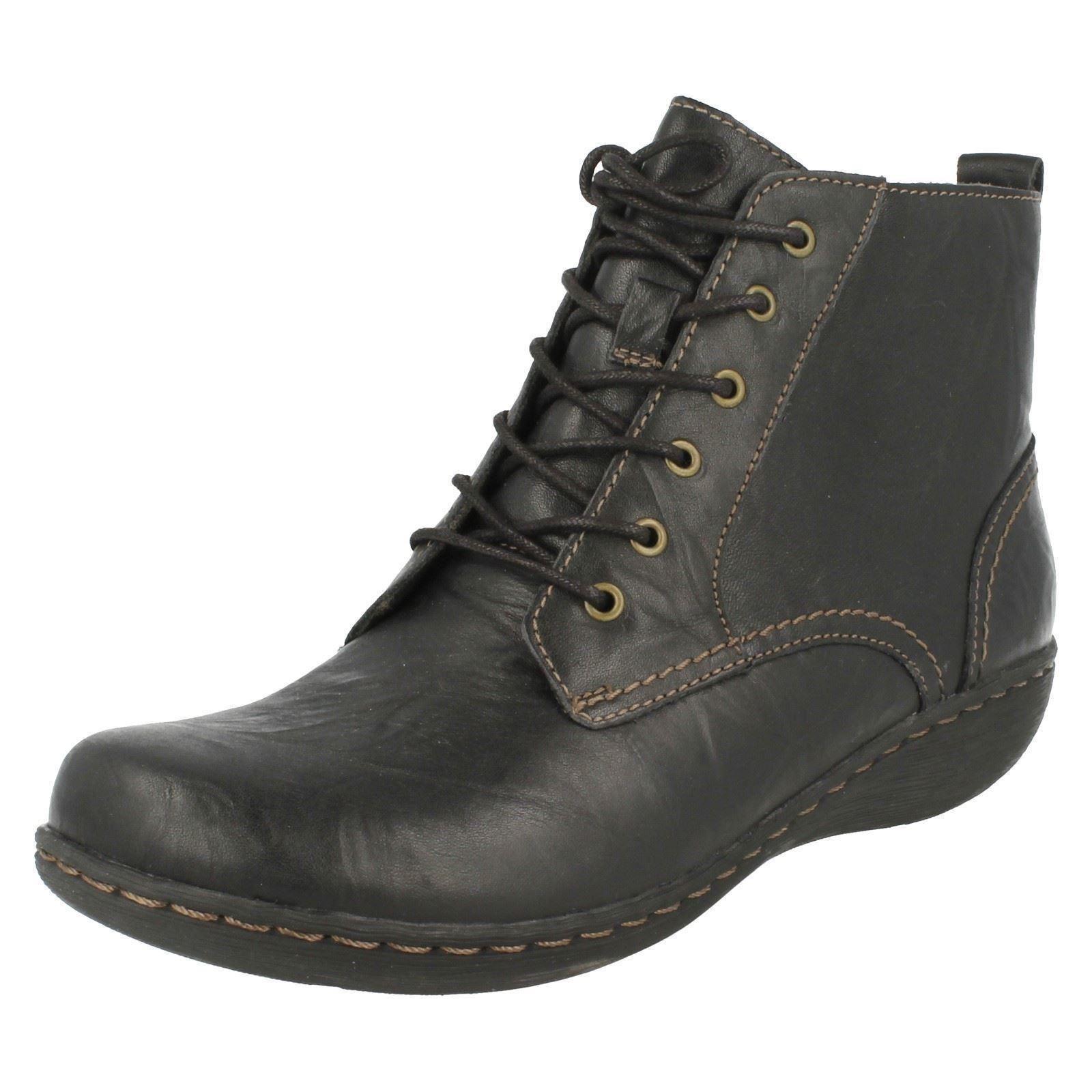 clarks ankle boots fianna ebay