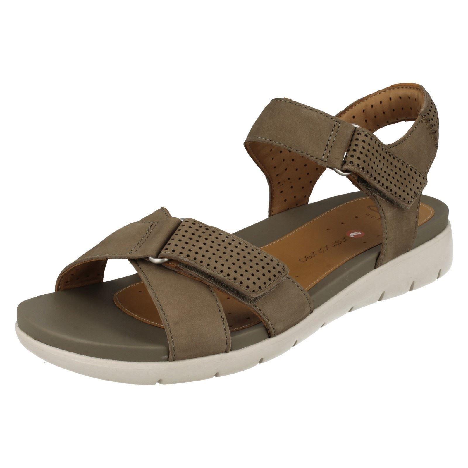 Ladies Clarks Unstructured Summer Sandals Un Saffron Ebay